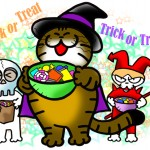 「trick or treat」