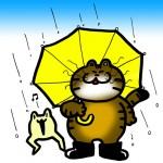 「梅雨だね〜」